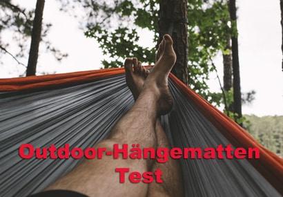 Hängematte outdoor Test
