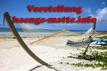 Vorstellung von haenge-matte.info