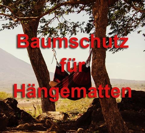 Baumschutz für Hängematten