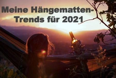 Hängematten Trends 2021